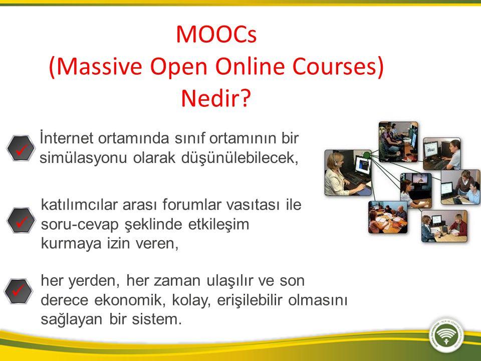 (Massive Open Online Courses)