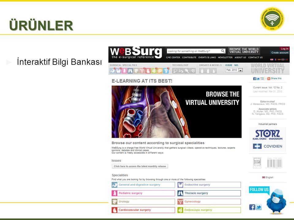 ÜRÜNLER İnteraktif Bilgi Bankası
