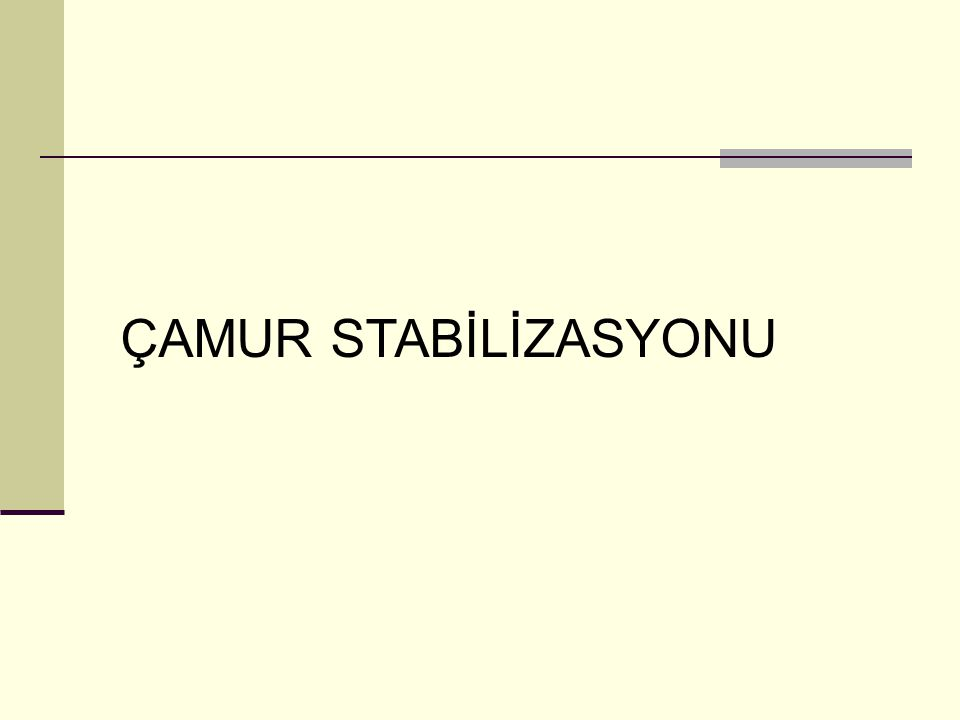 ÇAMUR STABİLİZASYONU