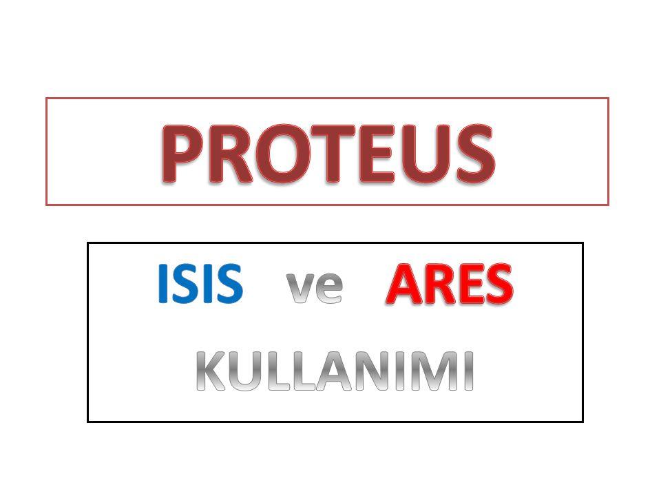 PROTEUS ISIS ve ARES KULLANIMI