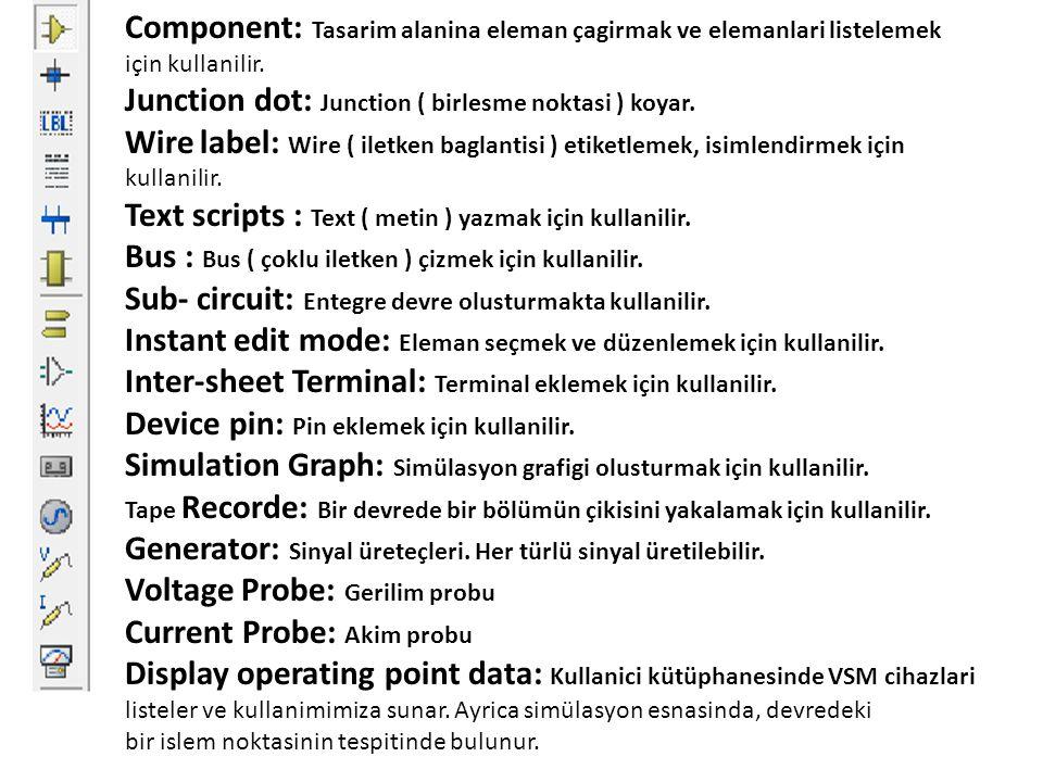 Component: Tasarim alanina eleman çagirmak ve elemanlari listelemek