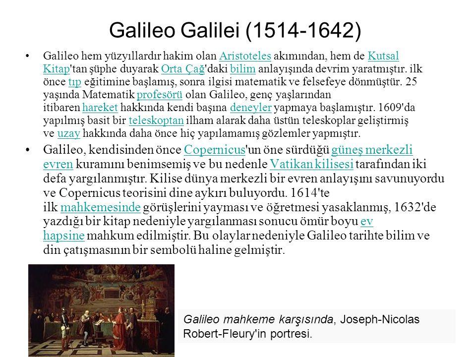 Galileo Galilei (1514-1642)