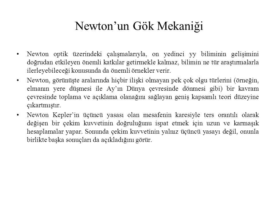 Newton'un Gök Mekaniği