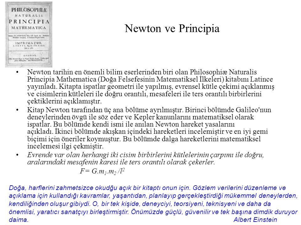Newton ve Principia