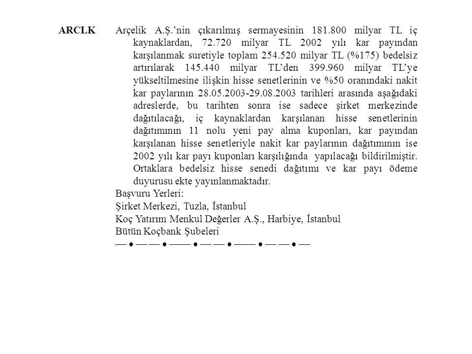 ARCLK