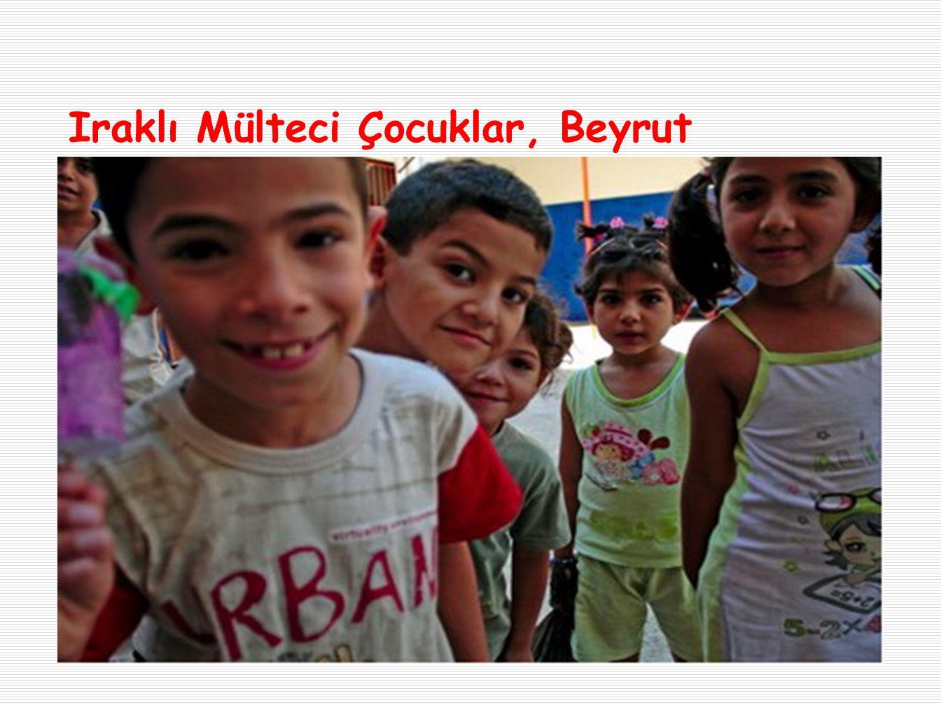 Iraklı Mülteci Çocuklar, Beyrut