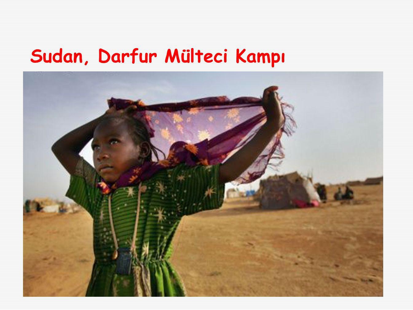 Sudan, Darfur Mülteci Kampı