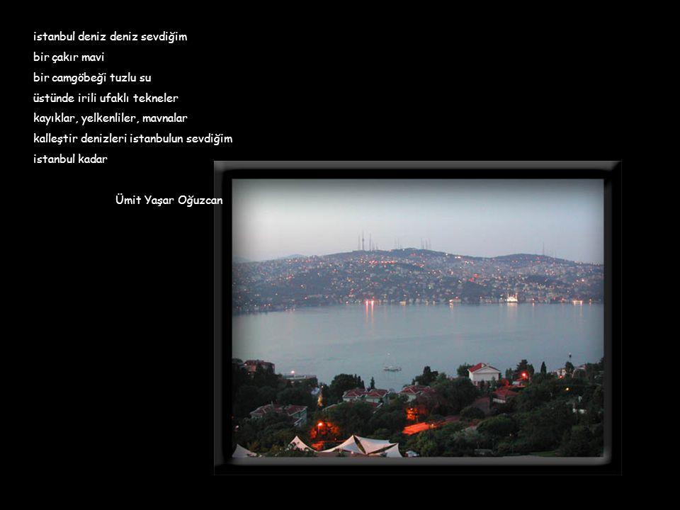 istanbul deniz deniz sevdiğim