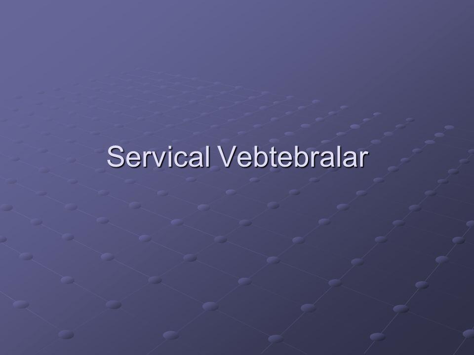 Servical Vebtebralar