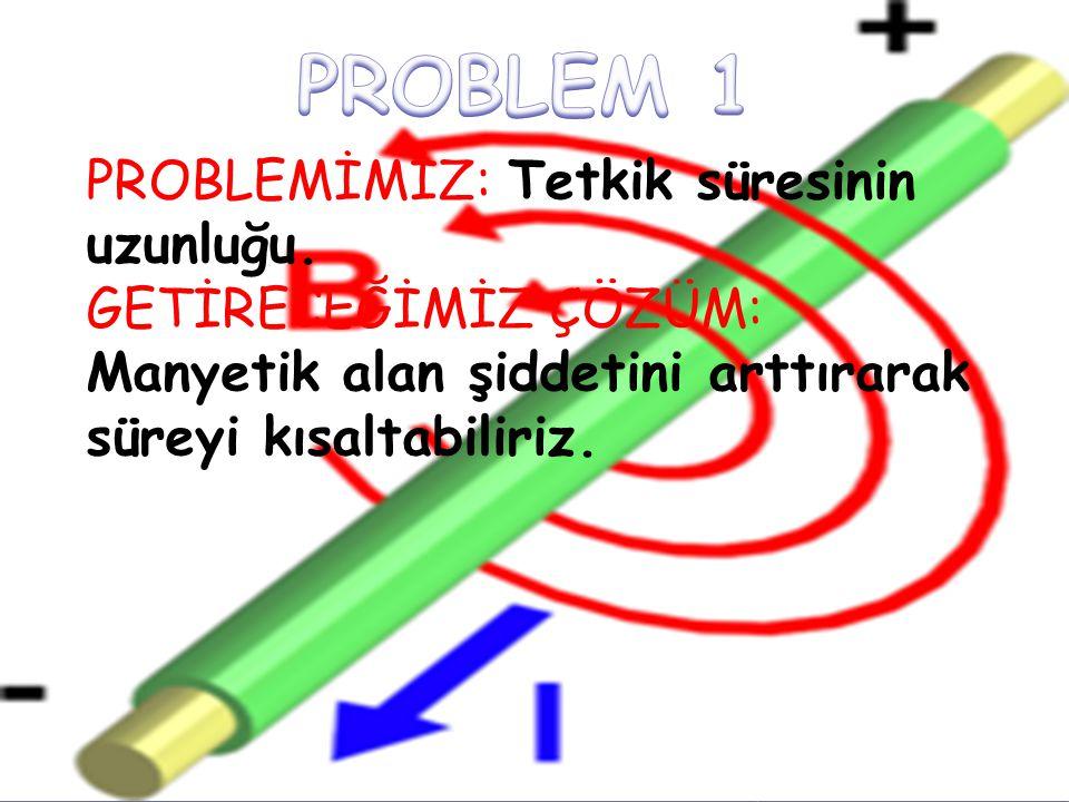 PROBLEM 1 PROBLEMİMİZ: Tetkik süresinin uzunluğu.