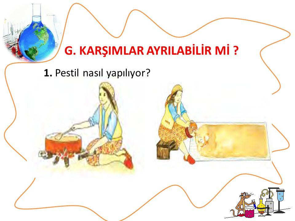 G. KARŞIMLAR AYRILABİLİR Mİ