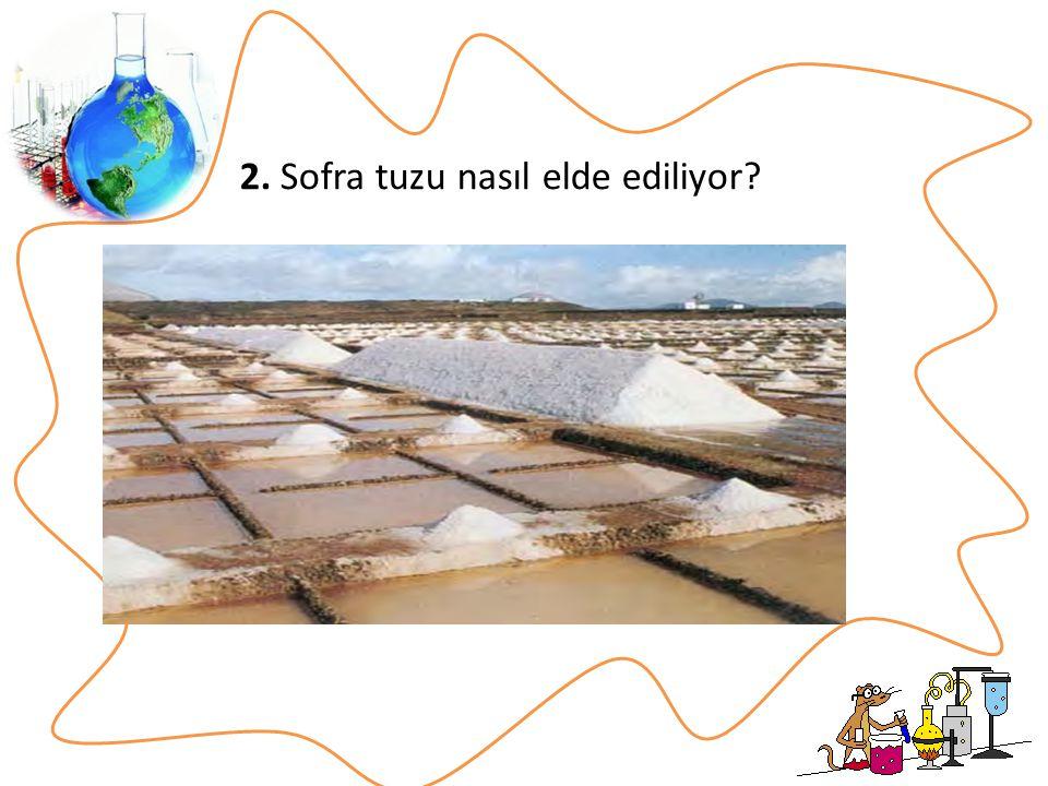 2. Sofra tuzu nasıl elde ediliyor
