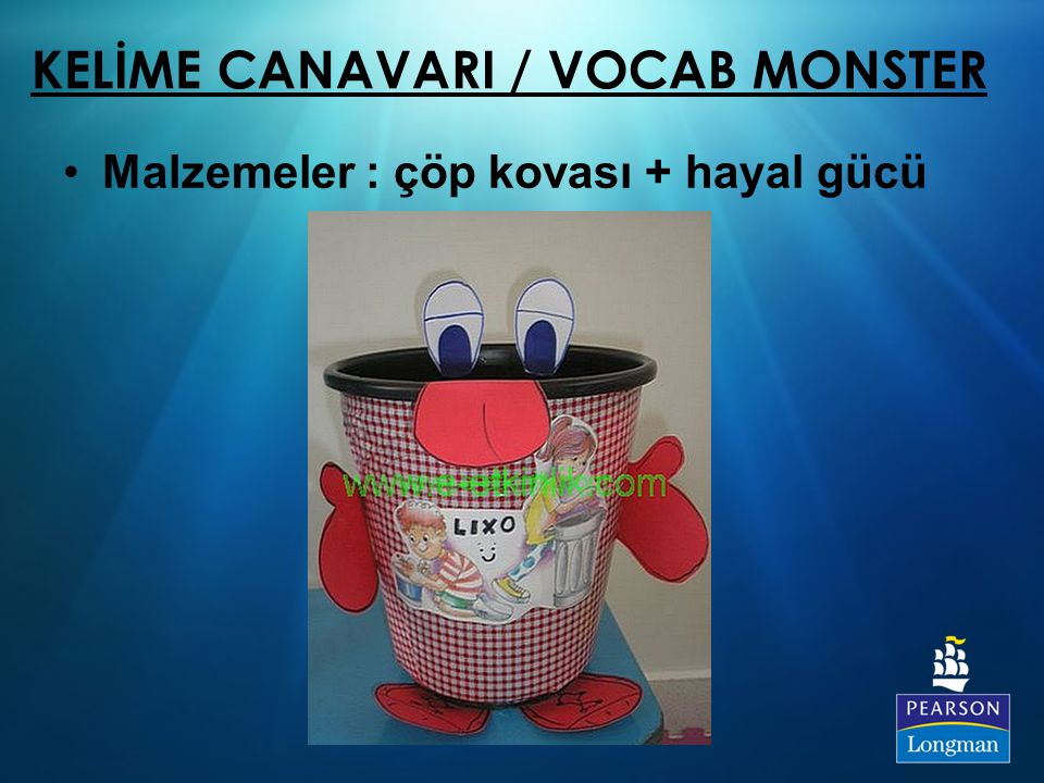 KELİME CANAVARI / VOCAB MONSTER