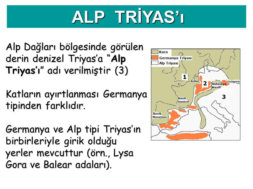 ALP TRİYAS'ı
