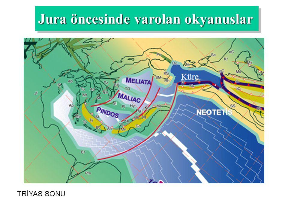 Jura öncesinde varolan okyanuslar