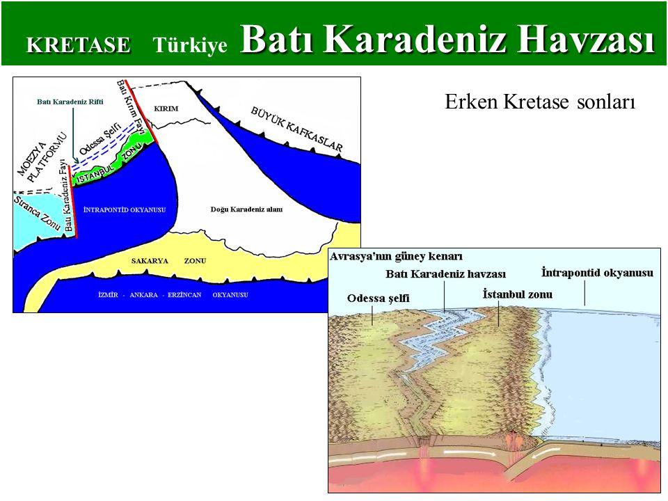 KRETASE Türkiye Batı Karadeniz Havzası