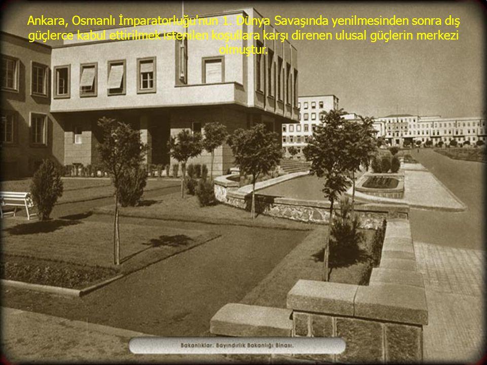Ankara, Osmanlı İmparatorluğu nun 1