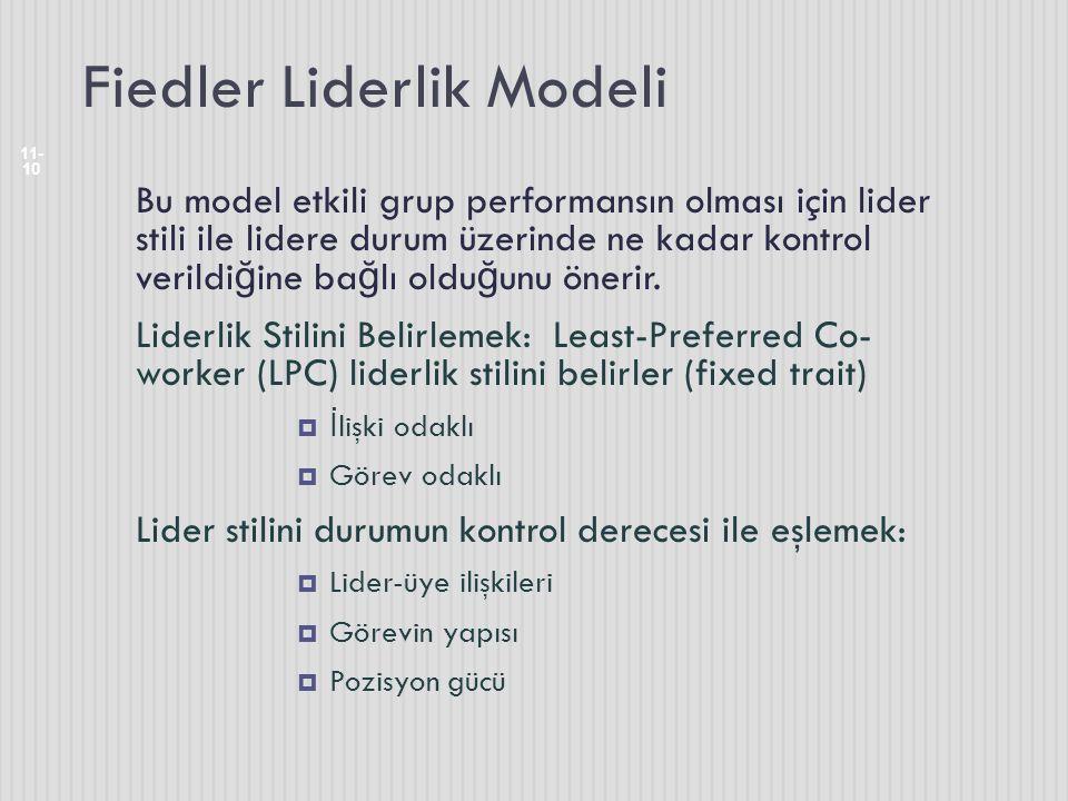 Fiedler Liderlik Modeli