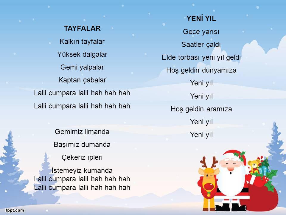 Elde torbası yeni yıl geldi Hoş geldin dünyamıza Yeni yıl