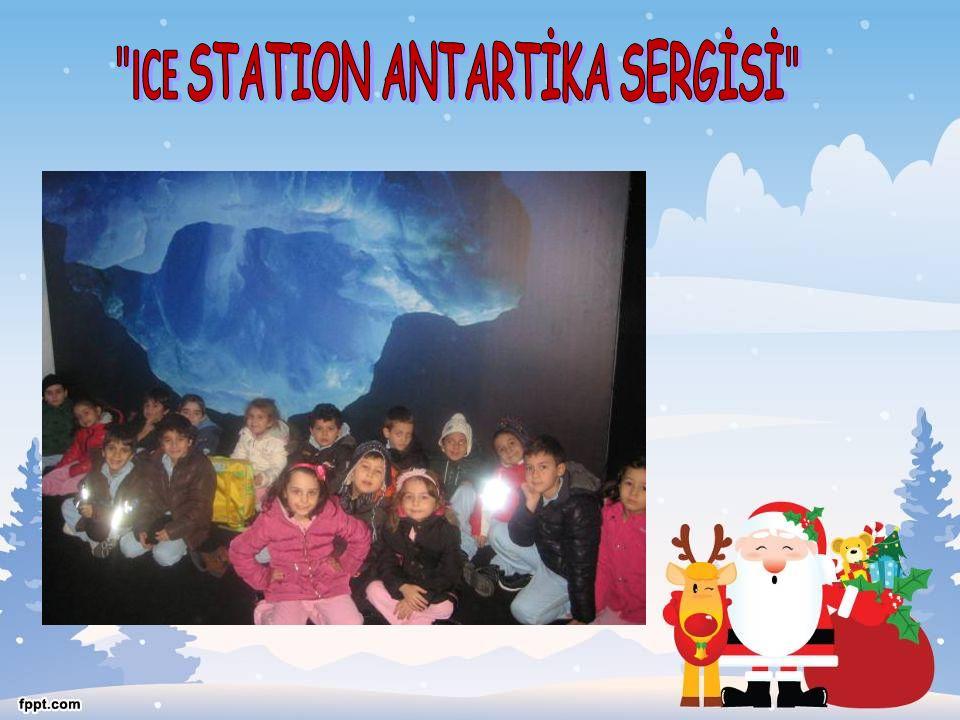 ICE STATION ANTARTİKA SERGİSİ