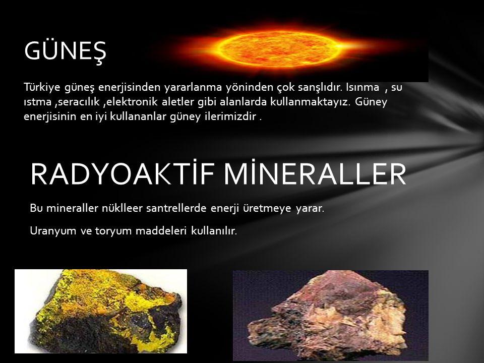 RADYOAKTİF MİNERALLER