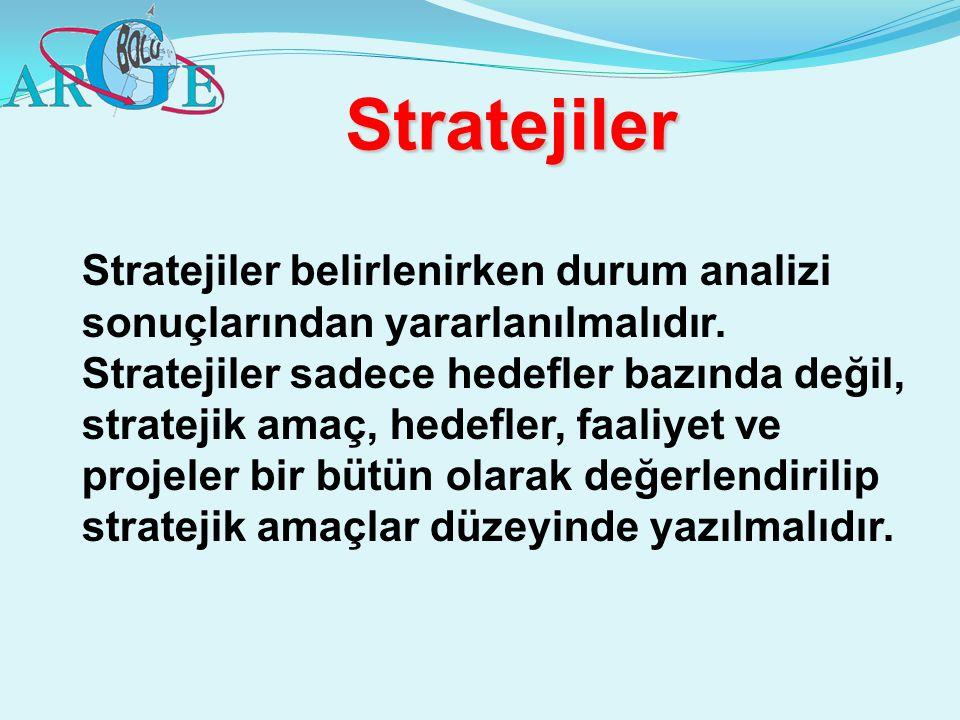 Stratejiler