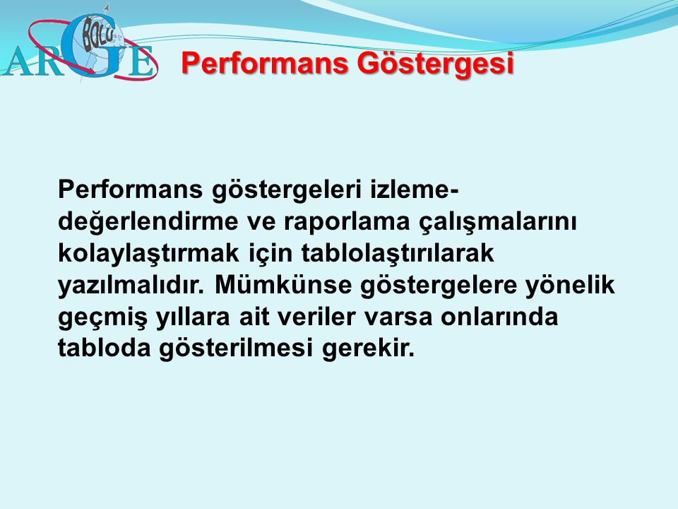 Performans Göstergesi
