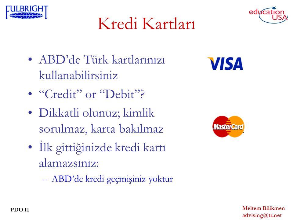 Kredi Kartları ABD'de Türk kartlarınızı kullanabilirsiniz
