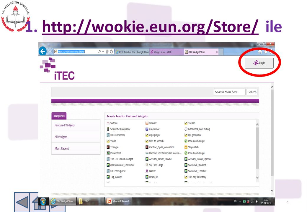 1. http://wookie.eun.org/Store/ ile