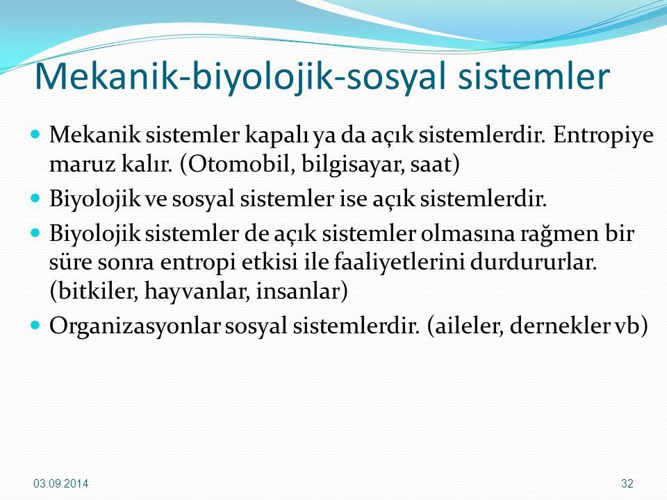 Mekanik-biyolojik-sosyal sistemler