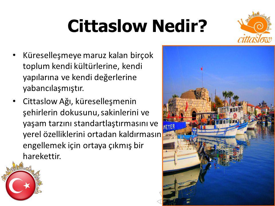 Cittaslow Nedir Küreselleşmeye maruz kalan birçok toplum kendi kültürlerine, kendi yapılarına ve kendi değerlerine yabancılaşmıştır.