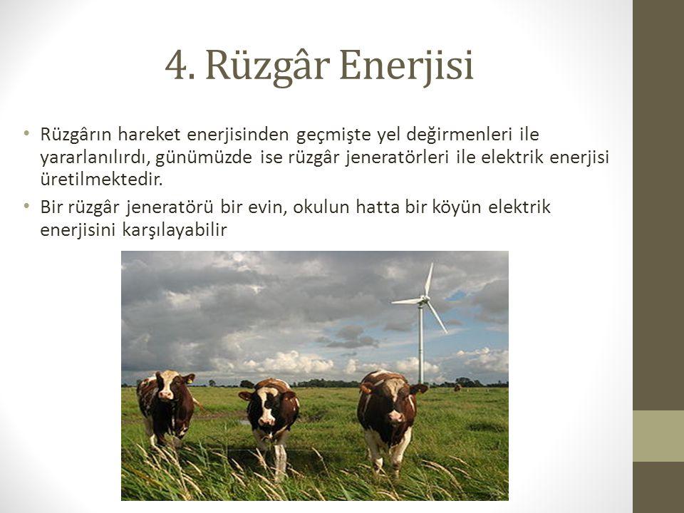 4. Rüzgâr Enerjisi