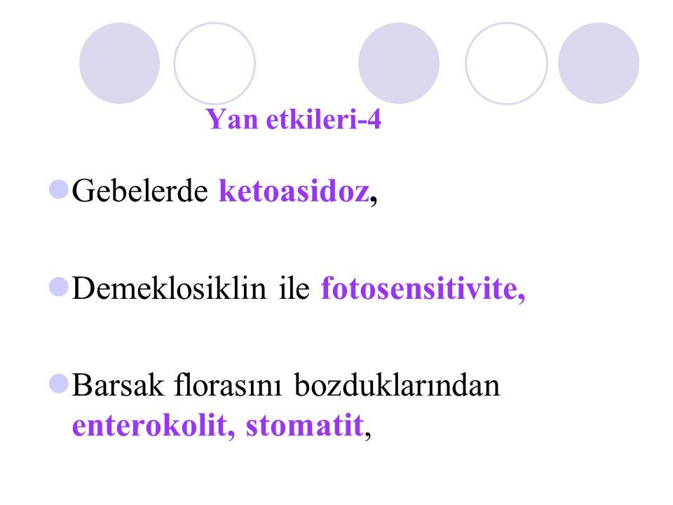 Demeklosiklin ile fotosensitivite,