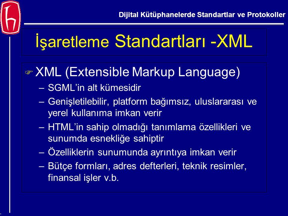 İşaretleme Standartları -XML