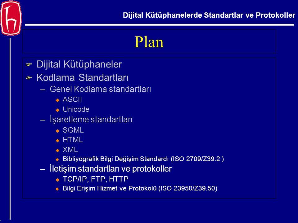 Plan Dijital Kütüphaneler Kodlama Standartları