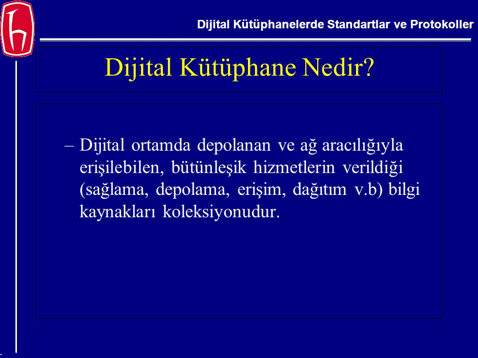 Dijital Kütüphane Nedir