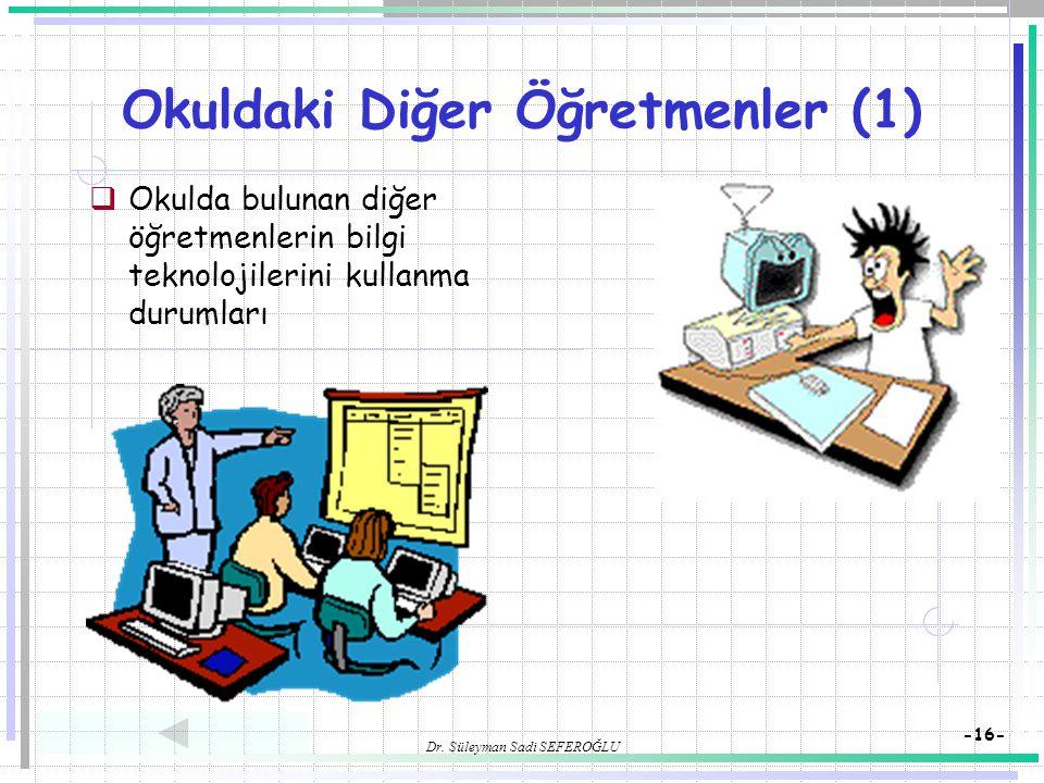 Okuldaki Diğer Öğretmenler (1)