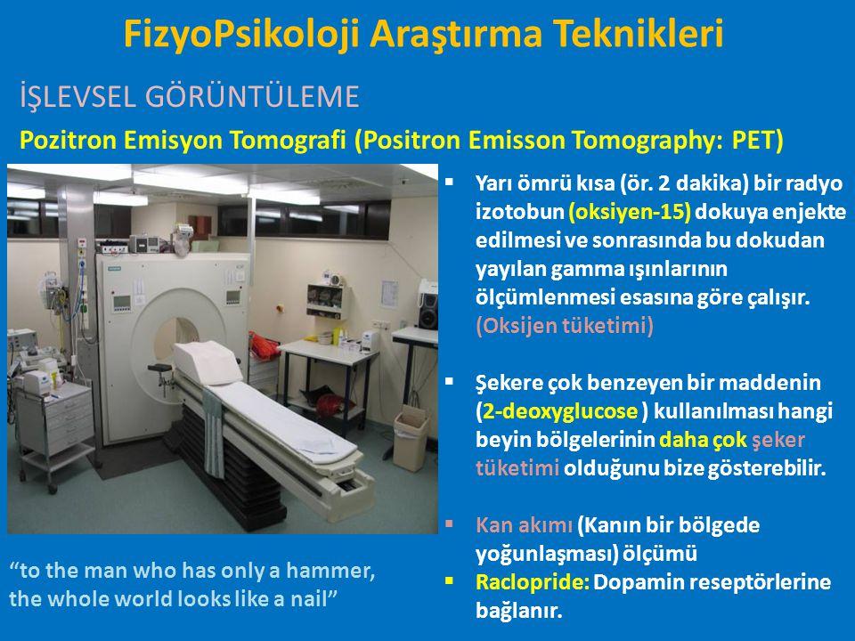 FizyoPsikoloji Araştırma Teknikleri