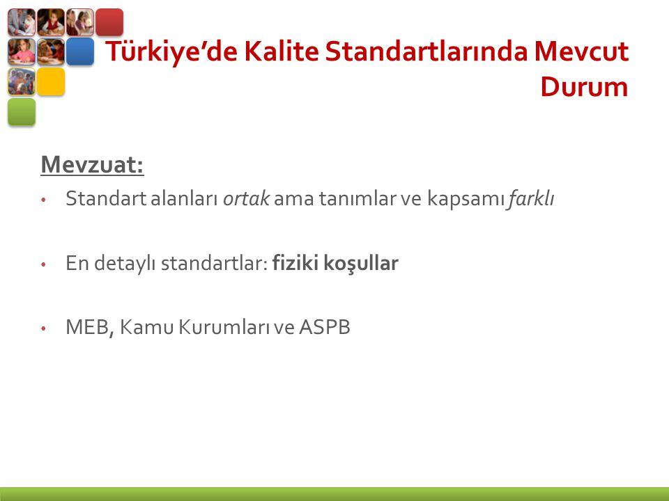Türkiye'de Kalite Standartlarında Mevcut Durum