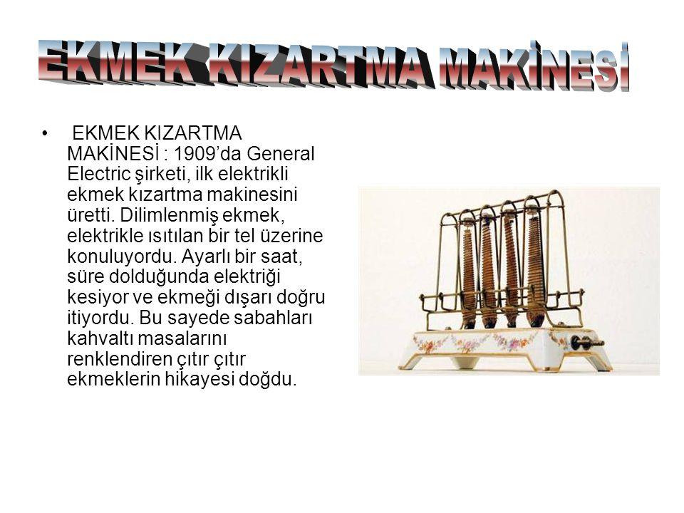 EKMEK KIZARTMA MAKİNESİ