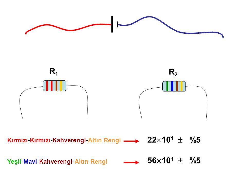 R1 R2 22101  %5 56101  %5 Kırmızı-Kırmızı-Kahverengi-Altın Rengi