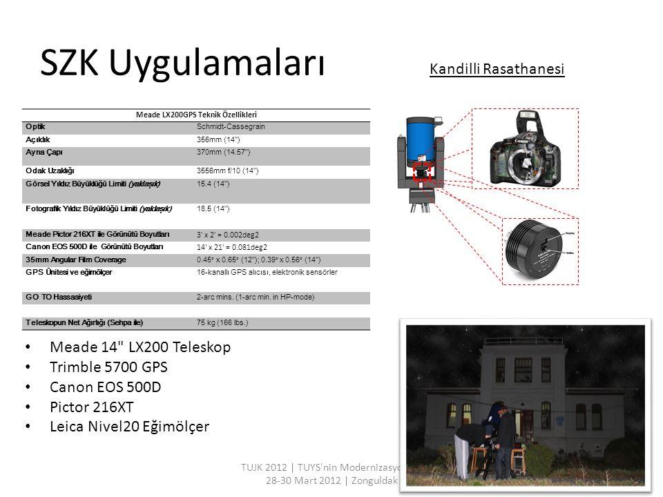 Meade LX200GPS Teknik Özellikleri