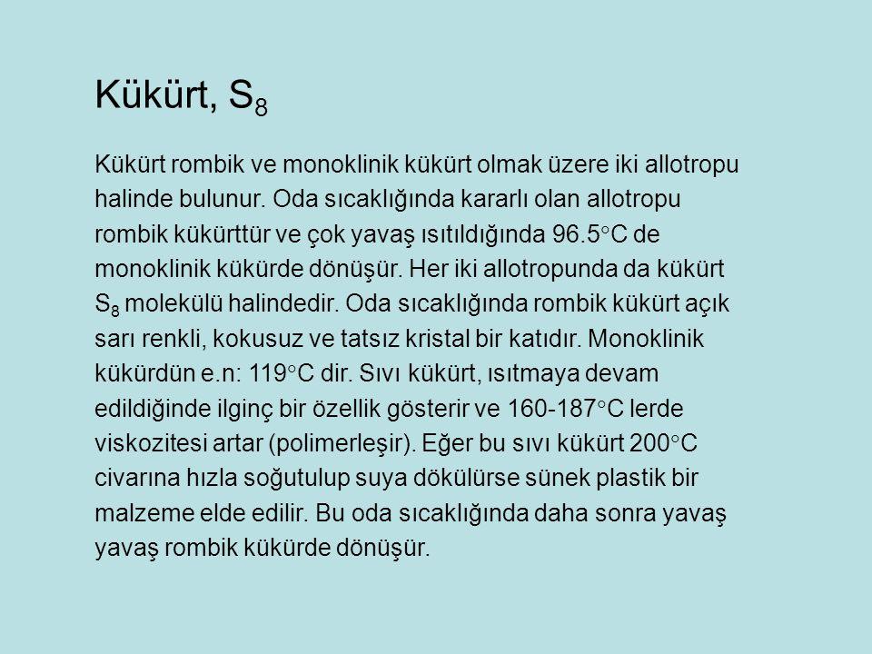 Kükürt, S8