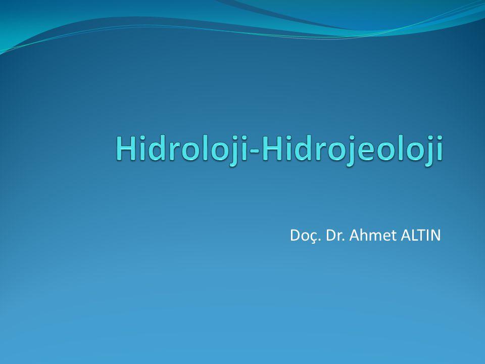 Hidroloji-Hidrojeoloji