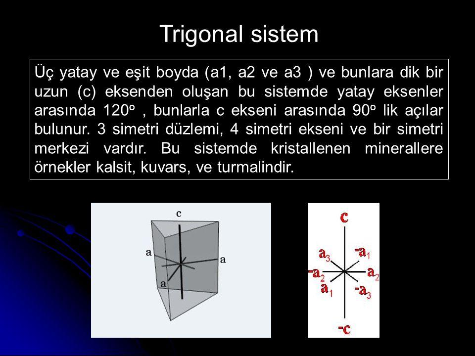 Trigonal sistem