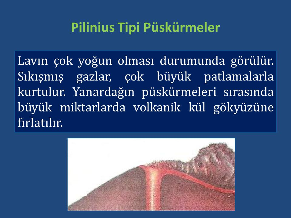 Pilinius Tipi Püskürmeler