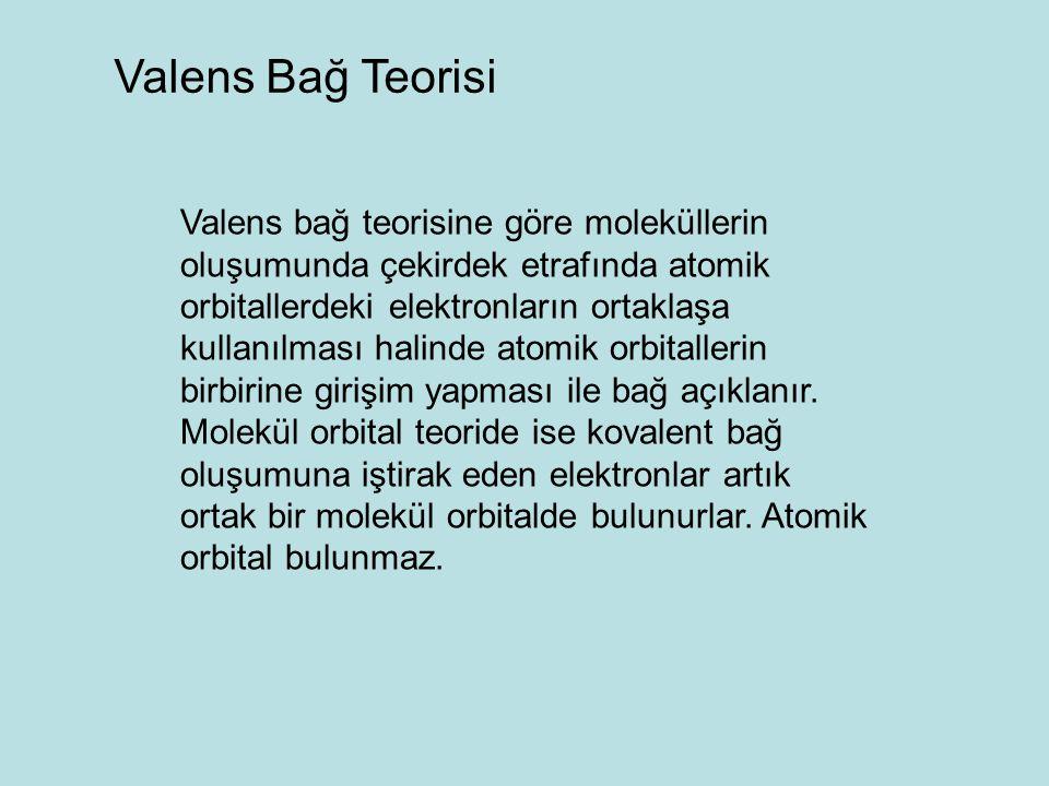 Valens Bağ Teorisi