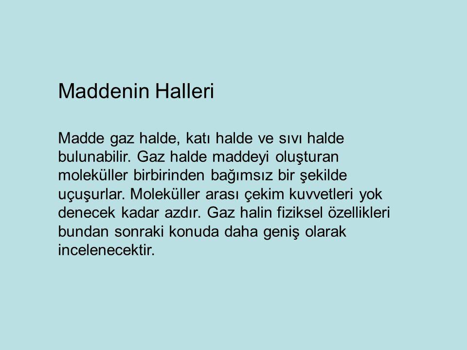 Maddenin Halleri