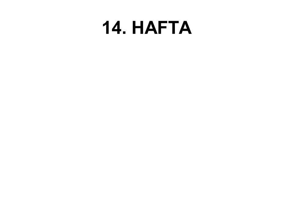 14. HAFTA