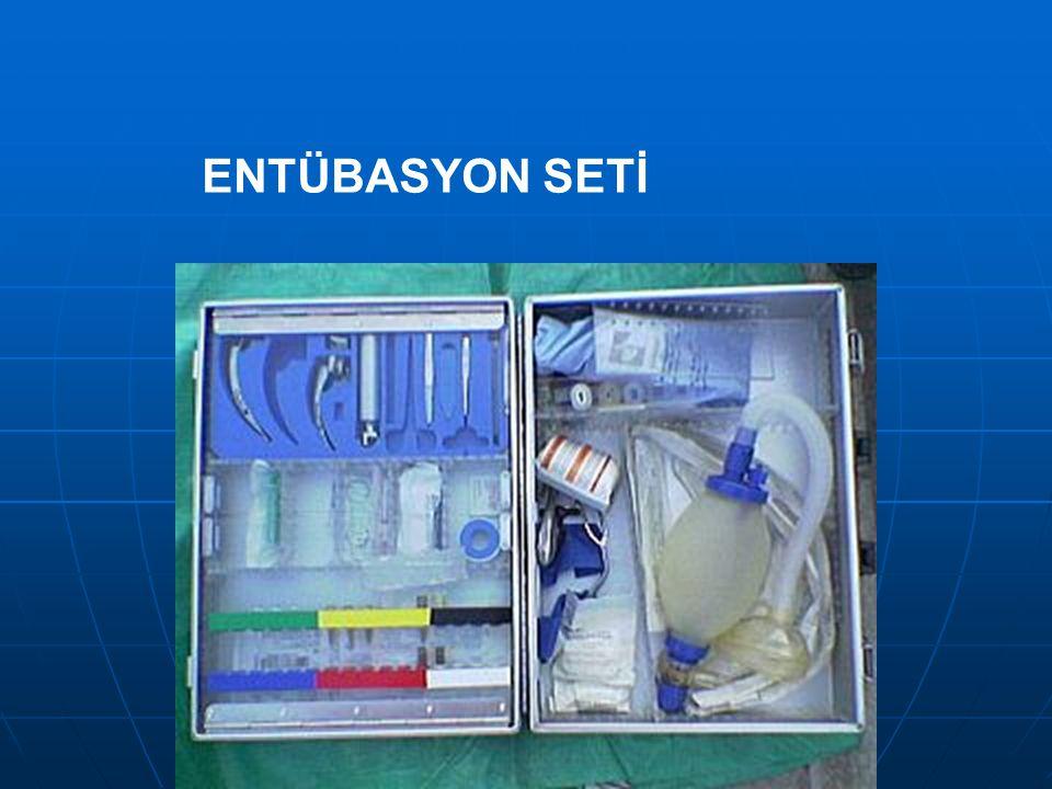ENTÜBASYON SETİ